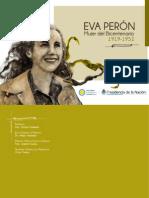 """Catálogo Muestra """"Eva Perón, Mujer del Bicentenario"""""""