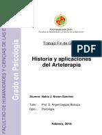 Tesis Historia Del Arte Terapia