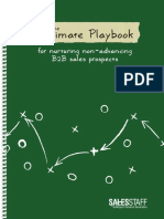 The Ultimate Playbook for Nurturing Non Advancing B2B Sales Prospects