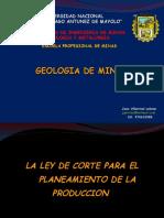 5.- LEY DE CORTE