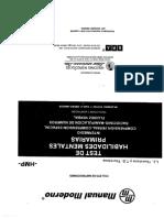 Folleto de Instrucciones THMP