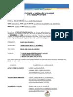Acta Constitutiva Sociedad de Alumnos