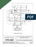 Examen Modelo AUTOCAD