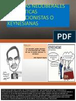 Politicas Neoliberales vs Politicas Proteccionistas o Keynesianas