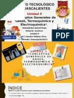 unidad 5 conceptos generales de gases termoquimica y electroquimica