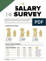 2014 NATA Salary Survey Executive Summary