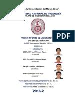 1° INFORME CIENCIA DE LOS MATERIALES