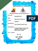Medidas de Automobiles Para Diseño de Carretera