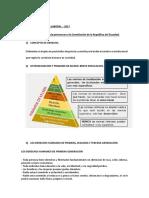 Derecho laboral constitucion Ecuador Cuestionario 2017