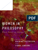Katrina Hutchison- Fiona Jenkins-Women in Philosophy_ What Needs to Change_-Oxford University Press