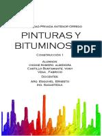 Informe Final Pintura y Bituminosos