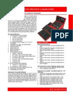 Ael1037b-i Power Electronics Trainer v1.2014