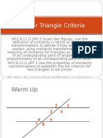 Similar Triangle Criteria
