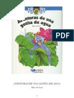Elisa de Paut Aventuras de Una Gotita de Agua With Numbers (1)