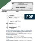 Physique Des Sols Partiel 2011-2012