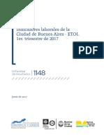 Empleo y Desempleo Ciudad Primer Trimestre 2017