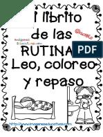 Mi Librito de Colorear RUTINAS PDF