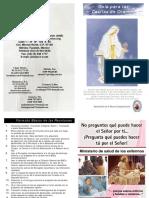 Guía Para Las Casitas de Oracion