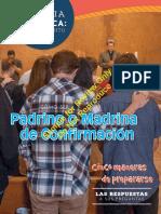 Padrinos y Madrina de Confirmacion