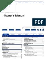 Denon Avrx3000 Manual