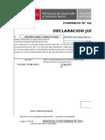 Dj y Recibo de Movilidad - Comision Hta gfdhh