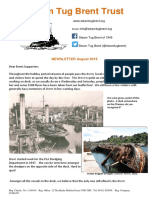 2015 august brent supporters newsletter
