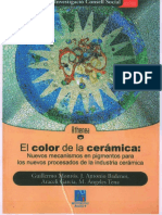 El Color de La Ceramica