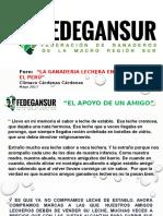 II Expo-Foro Ganaderia Lechera en El Peru