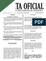 Gaceta Oficial Extraordinaria N° 6.296 ( AUMENTO)