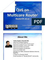 QoS on Multicore Router