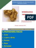 Mineralogía Propiedades Físicas I