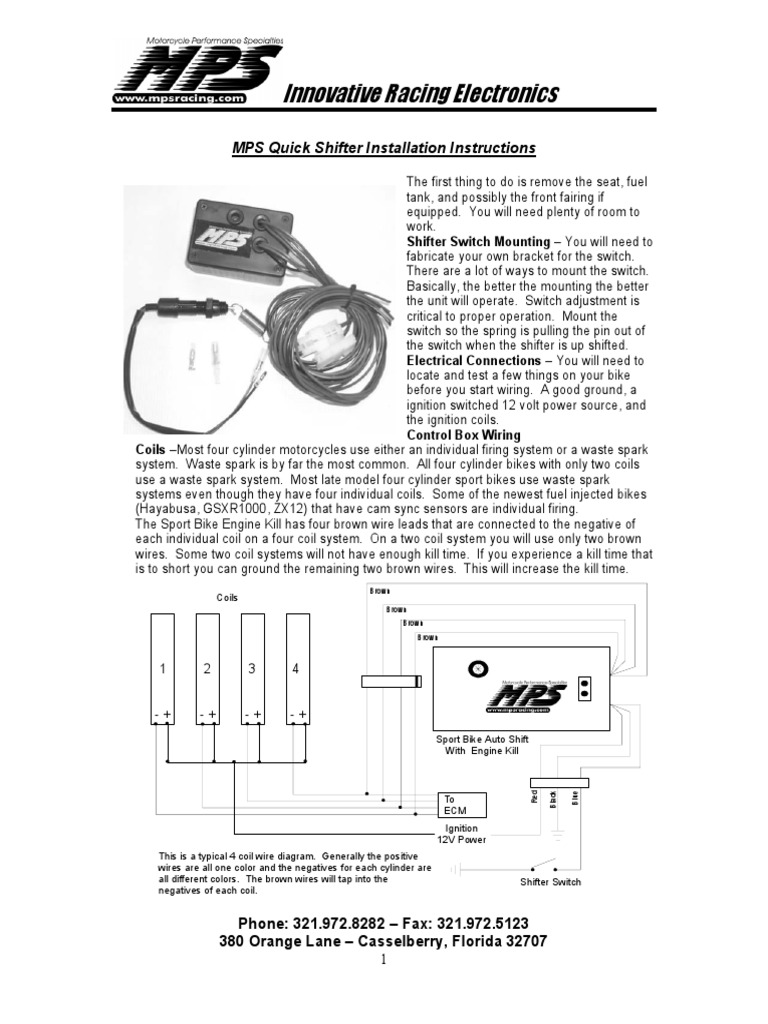 quick shifter ignition system motorcycle rh scribd com