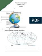 Ficha de Avaliação Global