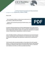 24-06-17 La Casa Blanca Retira Del Presupuesto Propuesta de Financiamiento Integral Del Muro Fronterizo, Señala CEIGB