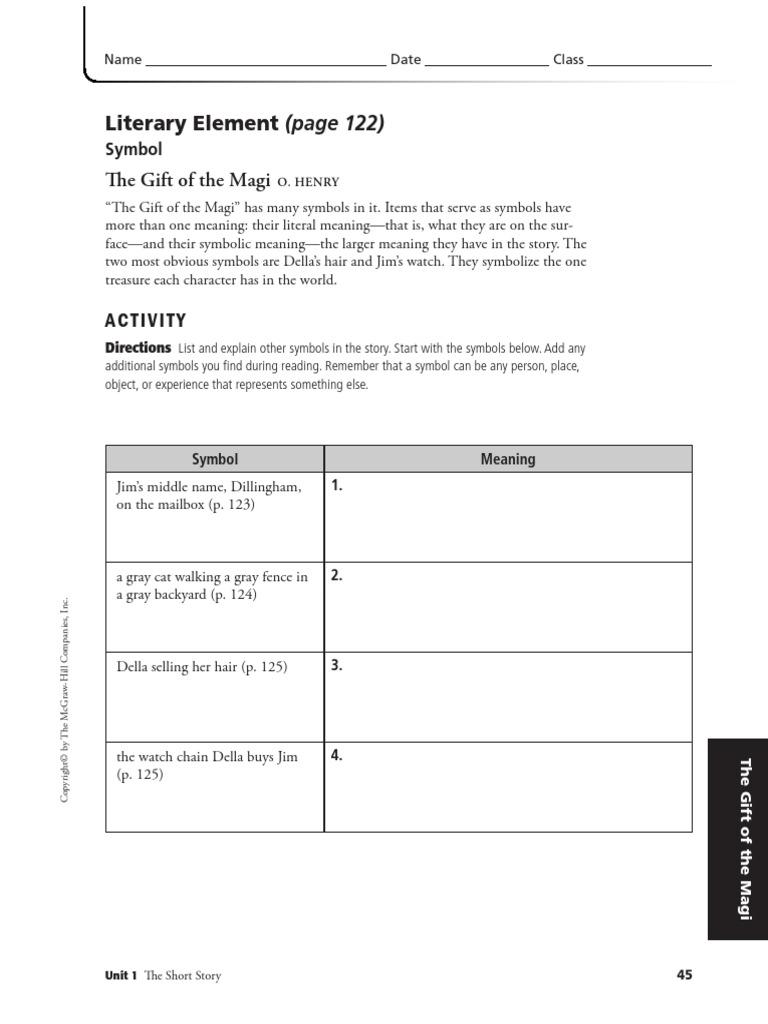 worksheet The Gift Of The Magi Worksheet the gift of magi worksheets pdf