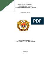 Manualul Pluton Infanterie 2010