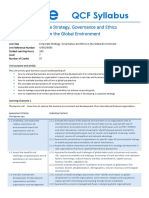abe Corporate Strategy, Governance and Ethics in the Global Environment_Syllabus_level 7