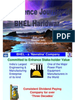 historic data of bhel share prices