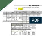 Anexo Excel Nomina