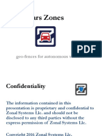 Zonal Control for Autonomous Vehicles