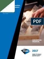Pdac 2017 Convention Program
