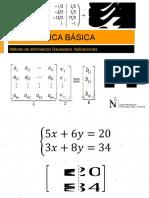 Ppt_s3_mb_método de Eliminacion de Gauss
