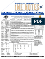 6.5.17 at MIS Game Notes