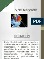 Estudio de MERCADO Emprendimiento II