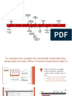 PowerPoint Excel Timeline Template