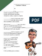 Lição 1 Pronomes Interrogativos Caetano Sozinho - Alunos