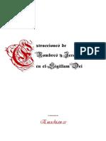 Extraccion de Nombres YJerarquias en El Sigillum Dei