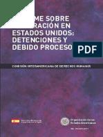 CIDH Informe Inmigración EEUU 2011