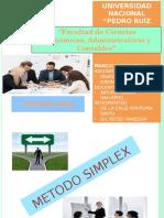Metodo Simplex 1er Parte