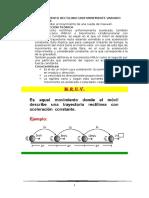 FISICA MRUV